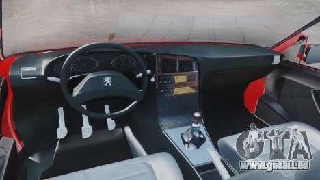 Peugeot Pars Spayder Sport pour GTA San Andreas vue de droite