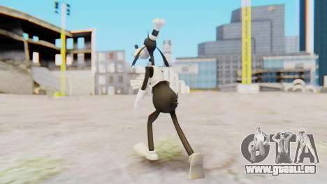 Kingdom Hearts 2 Goofy (Toon) Timeless River für GTA San Andreas dritten Screenshot