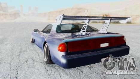ZR-350 Stance pour GTA San Andreas laissé vue