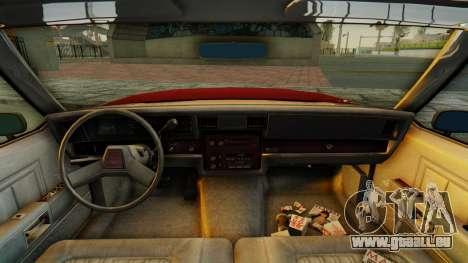 Chevrolet Impala 1984 pour GTA San Andreas vue arrière