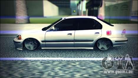 Honda Civic by Snebes pour GTA San Andreas laissé vue