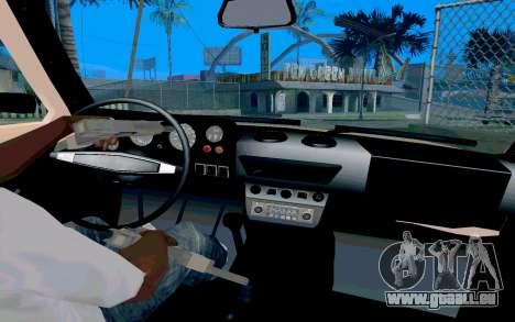 VAZ Niva pour GTA San Andreas vue arrière