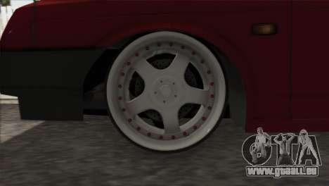 VAZ 2108 DropMode pour GTA San Andreas vue intérieure