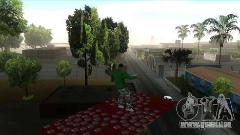 Cleo Mod San Andreas pour GTA San Andreas cinquième écran