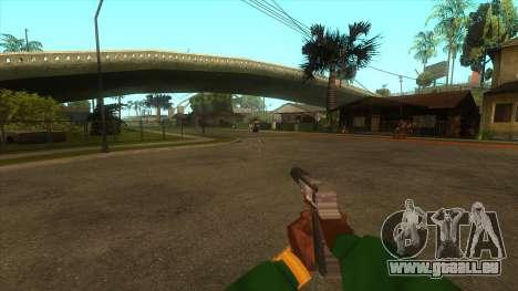 La première personne de la v3.0 pour GTA San Andreas neuvième écran