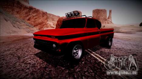 Chevrolet C10 Rusty Rebel für GTA San Andreas linke Ansicht
