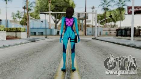 Fatal Frame 5 Yuri Zero Suit pour GTA San Andreas troisième écran