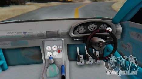 Nissan Silvia s15 Itasha [EDE-Crew] für GTA San Andreas Rückansicht