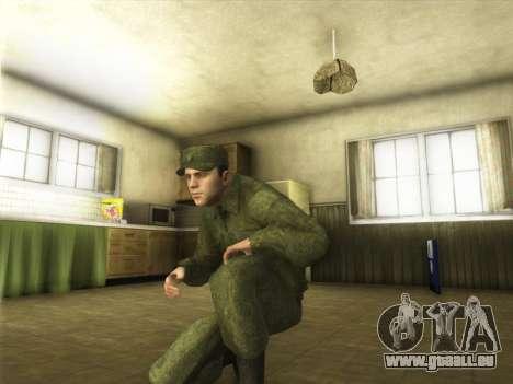 L'Ordinaire Modernes De L'Armée De La Russie pour GTA San Andreas quatrième écran