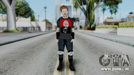 Sheamus Casual pour GTA San Andreas deuxième écran