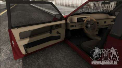 VAZ 2108 DropMode für GTA San Andreas Seitenansicht