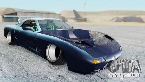 ZR-350 Stance pour GTA San Andreas vue de droite