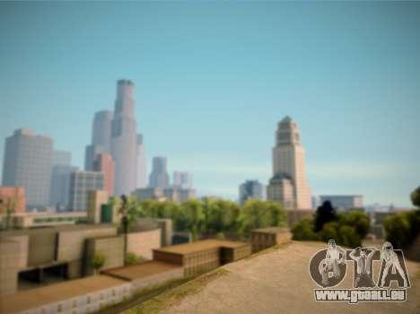 ENB GreenStyle V7.1 pour GTA San Andreas quatrième écran