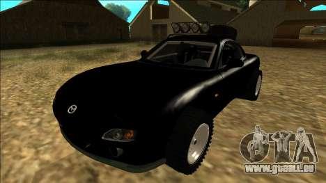 Mazda RX-7 Rusty Rebel pour GTA San Andreas