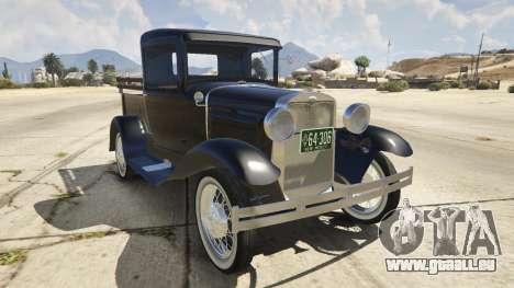 Ford A Pick-up 1930 für GTA 5