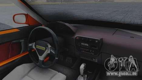 Honda Civic EG Ferio pour GTA San Andreas vue arrière
