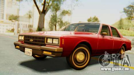 Chevrolet Impala 1984 pour GTA San Andreas