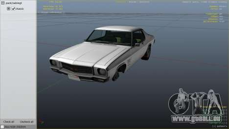 Holden HQ GTS Monaro für GTA 5