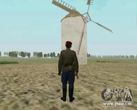 La collection de Soldats de l'armée rouge pour GTA San Andreas troisième écran