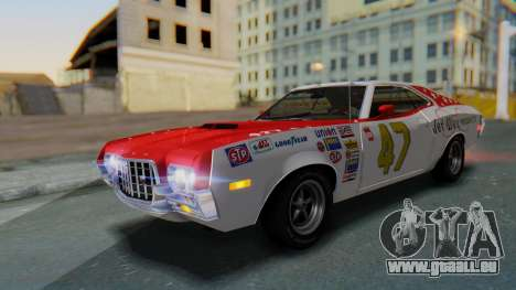 Ford Gran Torino Sport SportsRoof (63R) 1972 PJ2 pour GTA San Andreas salon