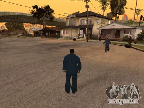 Russian mafia in Ganton für GTA San Andreas zweiten Screenshot