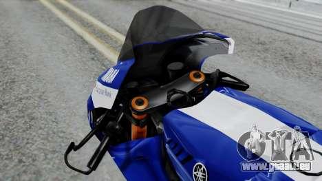 Yamaha YZR-M1 VR46 für GTA San Andreas rechten Ansicht
