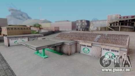 New Garage in San Fierro für GTA San Andreas