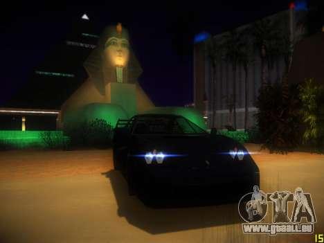 Folgende ENB V1.0 für mittlere PC für GTA San Andreas zweiten Screenshot