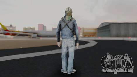Somalia Militia Woodland Camo pour GTA San Andreas troisième écran