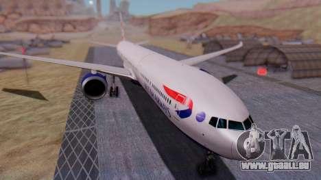 Boeing 777-9x British Airways pour GTA San Andreas