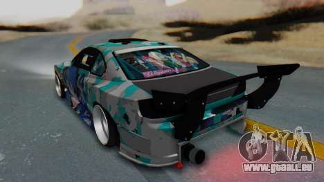 Nissan Silvia s15 Itasha [EDE-Crew] für GTA San Andreas linke Ansicht