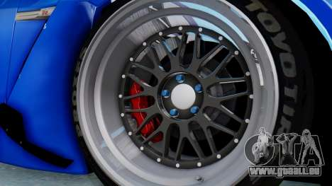 Nissan GT-R R35 Rocket Bunny für GTA San Andreas Rückansicht