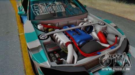 Nissan Silvia s15 Itasha [EDE-Crew] für GTA San Andreas rechten Ansicht