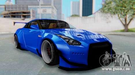 Nissan GT-R R35 Rocket Bunny für GTA San Andreas