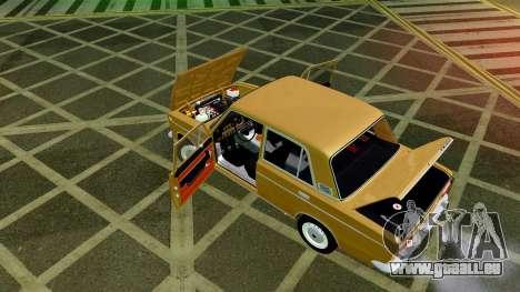 VAZ 2103 pour GTA San Andreas vue de dessus