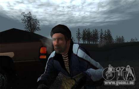 La vapeur de la bouche pour GTA San Andreas deuxième écran