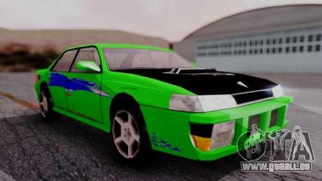 Sultan F&F Eclipse PJ für GTA San Andreas
