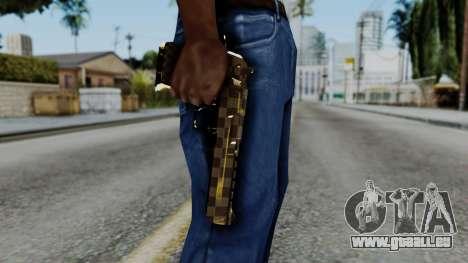 Deagle Louis Vuitton Version pour GTA San Andreas troisième écran