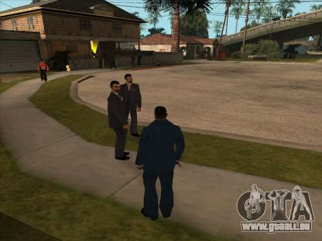Russian mafia in Ganton für GTA San Andreas dritten Screenshot