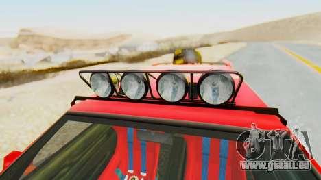 Virgo v2.0 pour GTA San Andreas vue de droite