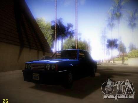 Suivant ENB V1.4 pour les faibles PC pour GTA San Andreas deuxième écran