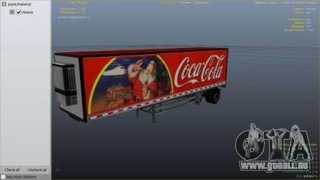 GTA 5 Coca Cola Truck v1.1 hinten rechts