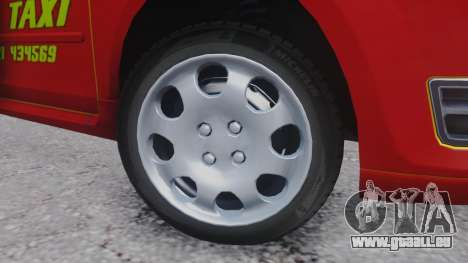 Ford Focus ST Taxi pour GTA San Andreas vue arrière