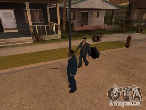 Russian mafia in Ganton für GTA San Andreas fünften Screenshot