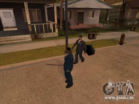 La mafia russe dans Ganton pour GTA San Andreas cinquième écran