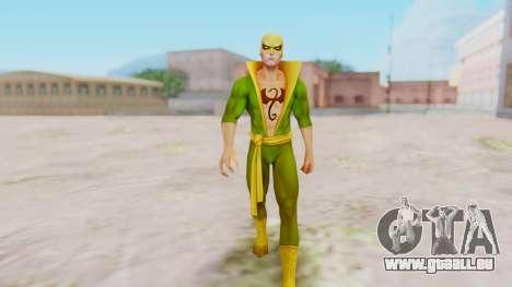 Marvel Future Fight - Iron Fist pour GTA San Andreas deuxième écran