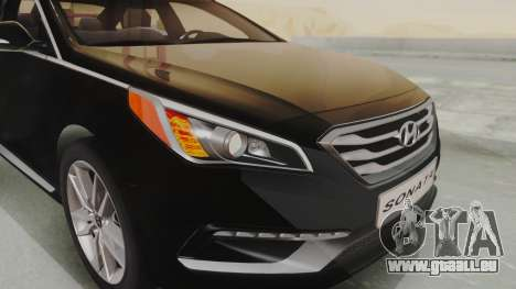 Hyundai Sonata Turbo 2.0 2015 V1.0 Final für GTA San Andreas Innenansicht