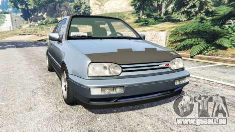 Volkswagen Golf Mk3 VR6 1998 Highline DTD v1.0a pour GTA 5