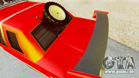 Virgo v2.0 pour GTA San Andreas sur la vue arrière gauche