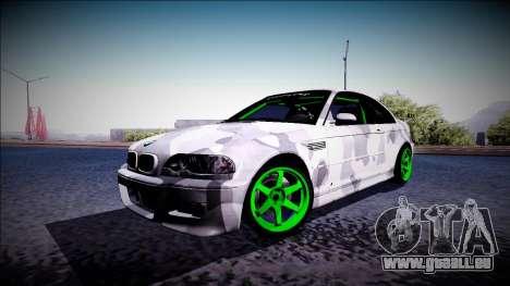 BMW M3 E46 Drift Monster Energy pour GTA San Andreas